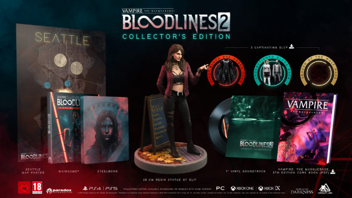 Vampire: The Masquerade – Bloodlines 2 Collector's Edition Revealed; Plus Damsel Returns