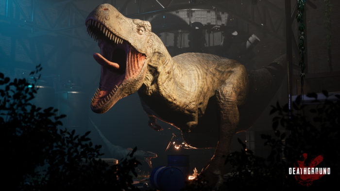 Kickstarter Launches for Deathground – A Dinosaur Survival Horror Game
