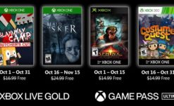 Xbox Unveils Horror-Themed October Games With Gold: Spoopy Edition