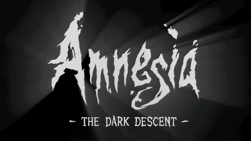 Amnesia: The Dark Descent black and white logo