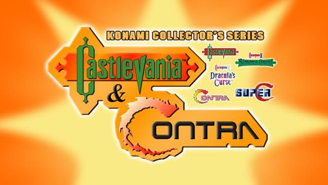 Castlevania & Contra Konami Collector's Edition Released for PC