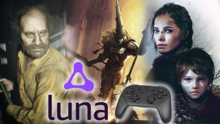 Amazon Luna Launch Lineup Includes RE7, Plague Tale, and More