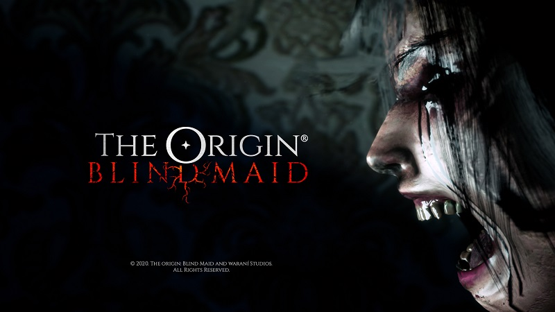 THE ORIGIN: Blind Maid cover art by Waraní Studios