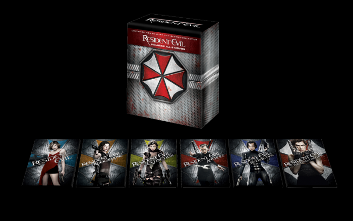 Resident Evil Six Film Collection Box Set Drops In Nov.