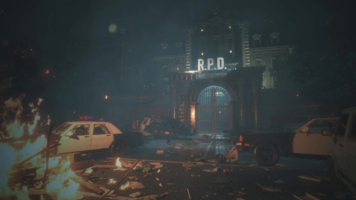 Resident Evil Reboot's R.P.D. Amidst The Outbreak in New Set Photo