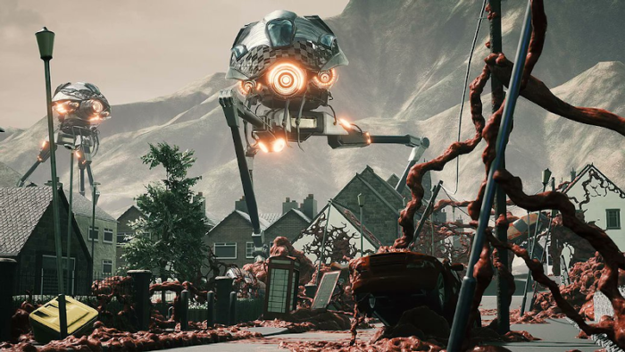Grey Skies: A War of the Worlds Story Invades The Stealth Genre
