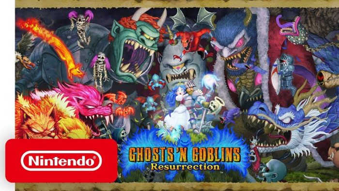 Ghosts 'n Goblins Resurrection Coming to Switch Feb. 2021