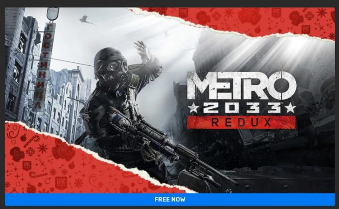 Metro 2033: Redux FREE for 24 Hours!