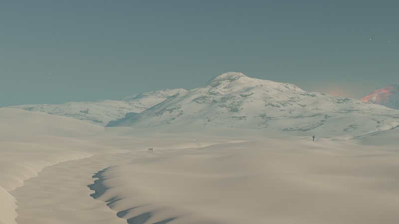 Buried In Ice screenshot showing an Arctic landscape