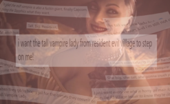 People Really Want the Resident Evil Village Lady To Step On Them