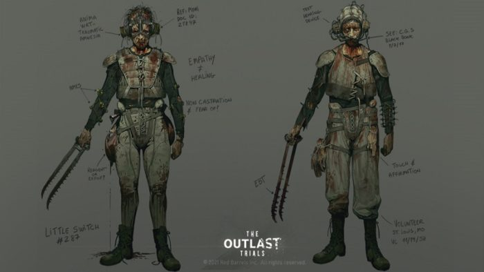 The Outlast Trials Concept Art Surfaces on Twitter