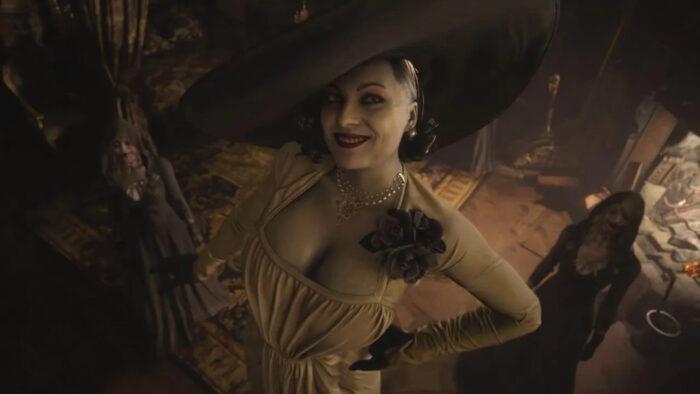 Resident Evil Lady Dimitrescu Figurine Contest Announced by Capcom