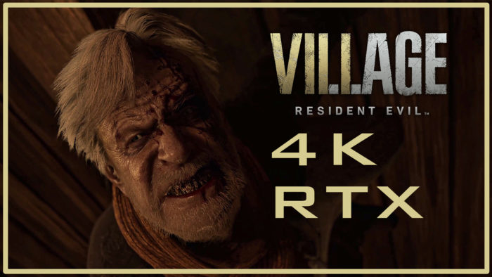 [Video] Resident Evil Village Demos in 4K with Raytracing