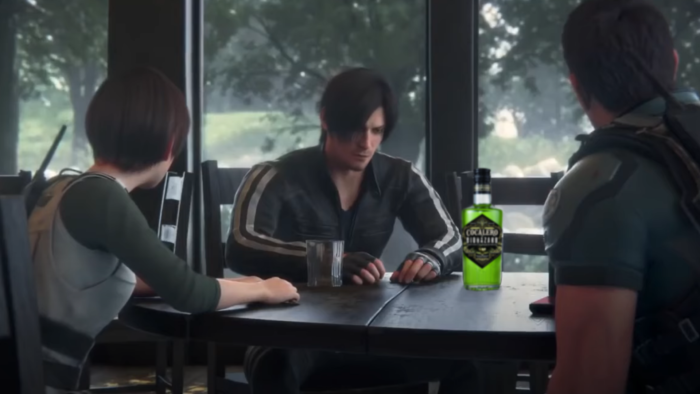 Resident Evil: Infinite Darkness Gets Merch and Booze Tie-In
