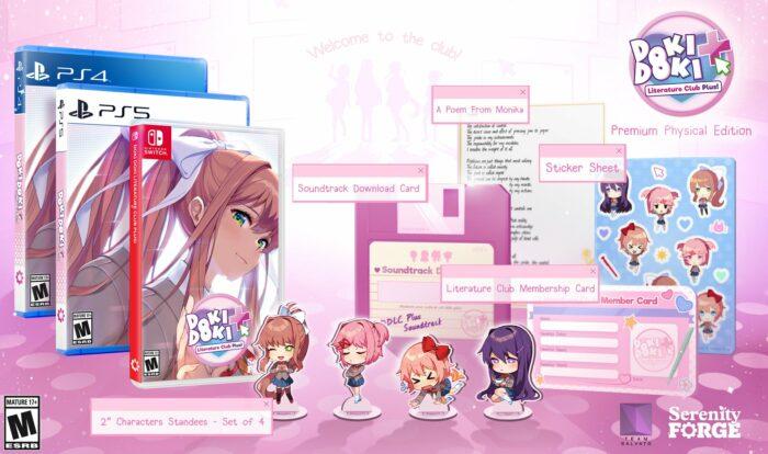 Doki Doki Literature Club Plus Coming to PlayStation 4/5, Switch June 30th
