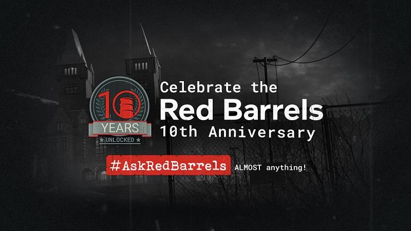 Red Barrels 10th year anniversary.