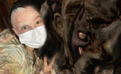 UPDATE: First Look at Resident Evil Film Reboot's Lisa Trevor Makeup