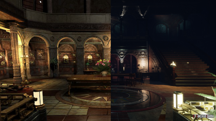 Resident Evil 3 Remake's Missing Clock Tower Recreated by Fan Artist
