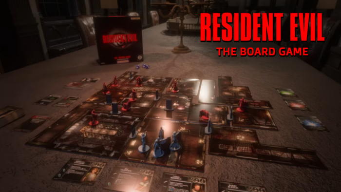 Resident Evil: The Board Game Officially Announced, Kickstarter Launches 10/26