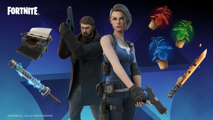 Resident Evil is Coming to Fortnite