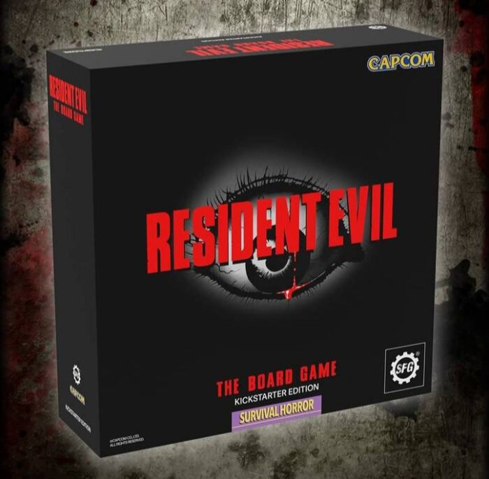 Resident Evil: The Board Game Kickstarter Launches Oct. 26
